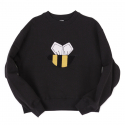 메종드슈크레(MAISON DE SUCRE) [기모]HONEYBEE SWEAT SHIRTS[BLACK]