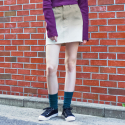 써() TONE ON TONE SKIRT_BEIGE