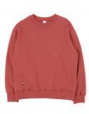 메종드슈크레(MAISON DE SUCRE) [기모]HANDLE SWEAT SHIRTS[BRICK RED]