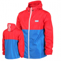 디지케이(DGK) Pier Windbreaker Jacket - Red/Blue