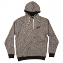 디지케이(DGK) Leisure Custom Hooded Fleece - Black Heather