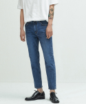 퍼스트플로어() URBAN STANDARD(slim tapered_cropped_딥 인디고)