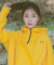 아빈(ARVVIN) zip up comfort HOODIE (yellow - 양기모)