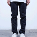 러스틱다임(RUSTIC DIME) RUSTIC DIME SLIM FIT DENIM (MIDNIGHT BLACK)