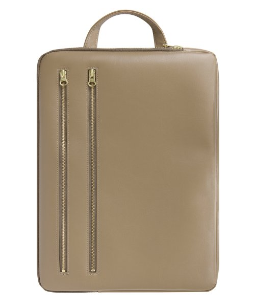테이블토크(TABLETALK) BRIEF BAG 2 ZIP_Beige