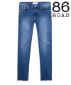 1707 all cutting washing jeans
