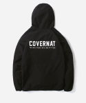 커버낫(COVERNAT) HOODED COACH JACKET BLACK