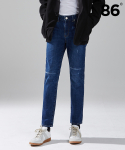 86로드(86ROAD) 1709 simple embroidery jeans / 슬림핏