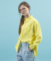 spring corduroy basic shirt(lemon)