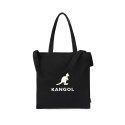 캉골(KANGOL) Eco Friendly Bag 0013 BLACK