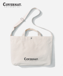 커버낫(COVERNAT) AUTHENTIC LOGO 2WAY BAG IVORY