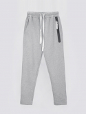 애티클(ATICLE) Welding Zip Baggy Fit Sweatpants (MG)