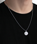 셉텐벌5() Medal serial number chain necklace