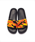 티엔피() CAMOUFLAGE SLIDE SANDAL - ORANGE