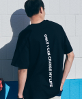 카멜워크(CAMEL WORK) Back Message S/S T-Shirts(Black)