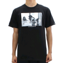 크룩스앤캐슬() CROOKS AND CASTLES Crew T-Shirt - Come Get It BLACK