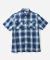 S/S OMBRE CHECK 2PK SHIRTS NAVY