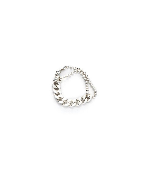 먼데이에디션(MONDAY EDITION) [usual M.E] usual silver ball and chain ring