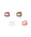 [usual M.E] usual color rings baby set (4 colors)