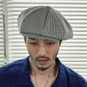 밀리어네어햇(MILLIONAIRE HATS) (Rayon gingham check 3pack)- CLASSIC BIG APPLE HAT