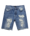 Denim Half Pants (Blue)