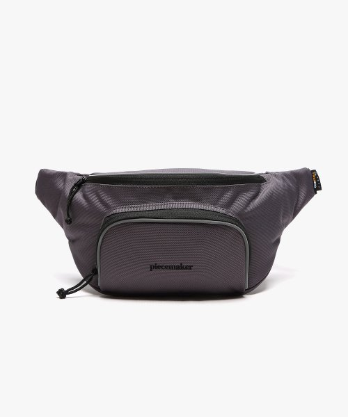 피스메이커(PIECE MAKER) CLASSIC CORDURA WAIST BAG (DARK GREY)