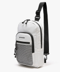 피스메이커(PIECE MAKER) CLASSIC CORDURA SLING BAG (WHITE)
