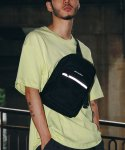 피스메이커(PIECE MAKER) CLASSIC CORDURA SLING BAG (BLACK)