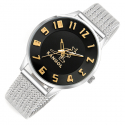 캉골시계(KANGOL WATCH) KG11059 SOLIDM-BLACK GOLD 매쉬 밴드