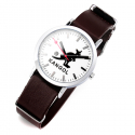 캉골시계(KANGOL WATCH) KG112323 SPECIAL-BROWN 나토 밴드