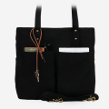모노노(MONONO) Super Oxford 6 Pocket 3 Way Bag - All Black