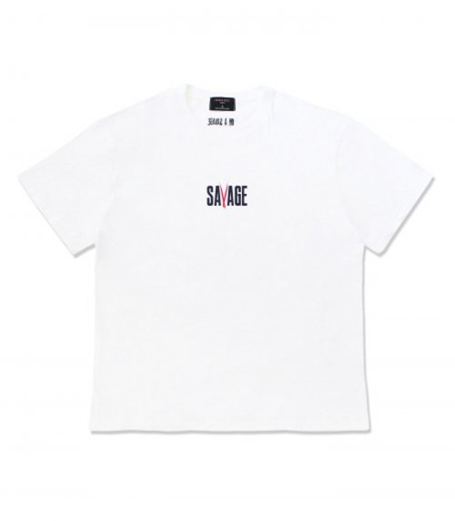 네임아웃(NAMEOUT) SAVAGE Tee - White