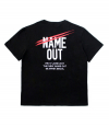 Name Out Staff Tee - Black