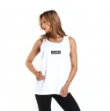 원알엠(ONERM) SLEEVELESS BOX - WHITE WMS