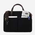 모노노(MONONO) Vintage Brief Bag Super Oxford_Black [서류가방]