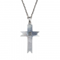 에이징씨씨씨(AGINGCCC) #125  A SIGNET CROSS NECKLACE