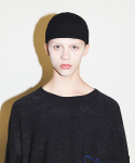 엔조 블루스() BASIC SHORT BEANIE (BLACK)