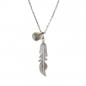 에이징씨씨씨(AGINGCCC) #135 NAVAJO FEATHER NECKLACE
