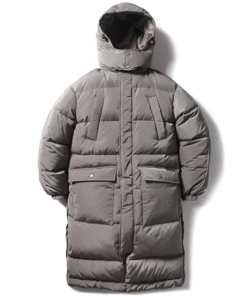 크리틱(CRITIC) MFG LONG DOWN JACKET(KHAKI GRAY)_CMOEIDJ01UK0