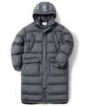 LONG GOOSE DOWN JACKET(CHARCOAL)_CTOGIDJ01UC1