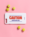 로라로라(ROLAROLA) (ETC-012)CAUTION PHONE CASE WHITE