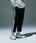 제로(XERO) Double Tape Track Pants [Black/White]