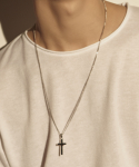셉텐벌5(SEPTEMBER5) [체인팔찌 증정]Cross thirty chain necklace