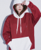 DEFAULT EMBROIDER HOOD(BURGUNDY)