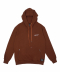 T37F RATHER BE DEAD HOODIE (BROWN)