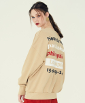 라티젠() LE COUPLE SWEATSHIRT(BEIGE)