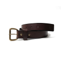 반() BAAN BROWN 901 Leather Belt Dark Brown