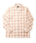 매닉(MANIC) WIDE COLLAR FLANNEL SHIRTS