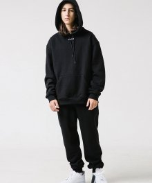 W SWEAT PANTS (BLACK)