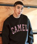 카멜워크(CAMEL WORK) Arch Logo Sweatshirts(Black)